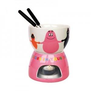 fondue porcelaine barbapapa united colors la boutique des toons. Black Bedroom Furniture Sets. Home Design Ideas