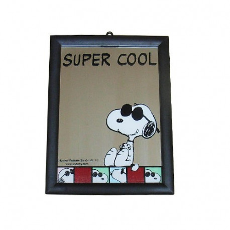 Miroir snoopy Super Cool