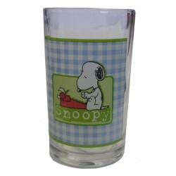 Vidrio del jugo Snoopy