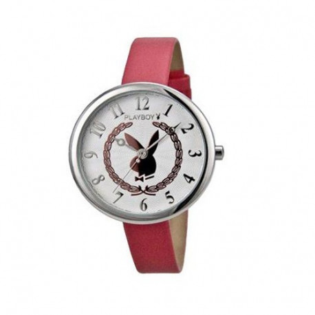 Playboy roze horloge