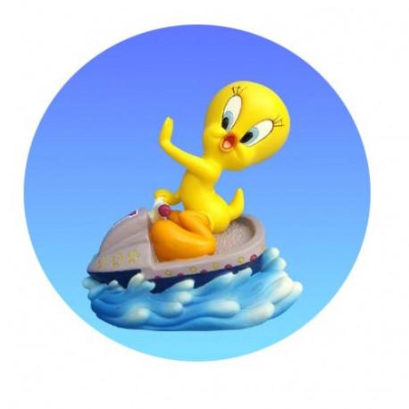 Figurina Tweety Jet ski