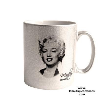 Mug Argent Marilyn Monroe Star