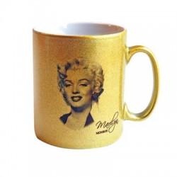Mug gold Marilyn Monroe Star