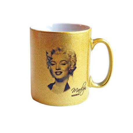 Becher gold Marilyn Monroe Star