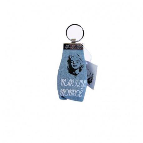 Houder en sleutel valuta Marilyn Monroe