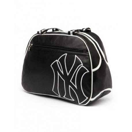 New York Yankees black 42 CM shoulder bag Style leather
