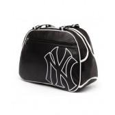 New York Yankees zwart 42 CM schoudertas stijl leer