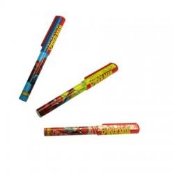 Penna di Spiderman - colore: rosso & giallo