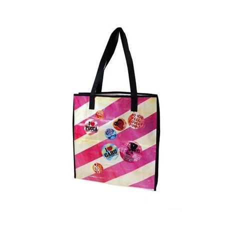 "Shopping bag Pucca ""I LOVE"""