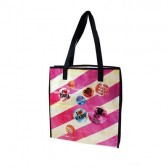 'Amo' shopping bag pelle Pucca