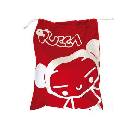 Tas pochon Pucca rood