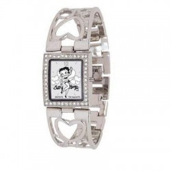 Montre Betty Boop coeurs Strass