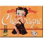Kaart van postal metalen Betty Boop