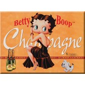 Map postal metal Betty Boop
