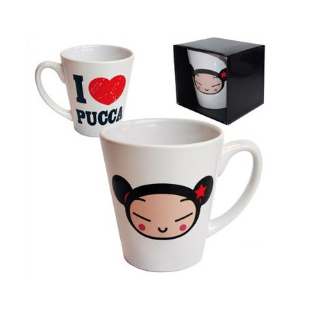 Mug conique I love Pucca