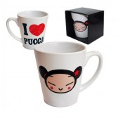 Conical mug I love Pucca