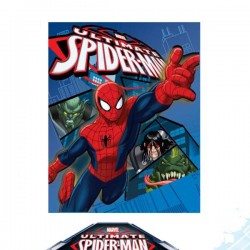 Coperta in pile Spiderman Ultimate