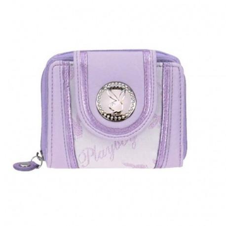 Porte monnaie Playboy violet
