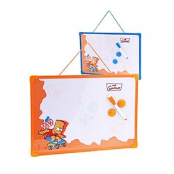 Slate table Simpson - color: Orange
