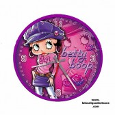 Clock Betty Boop Fashion