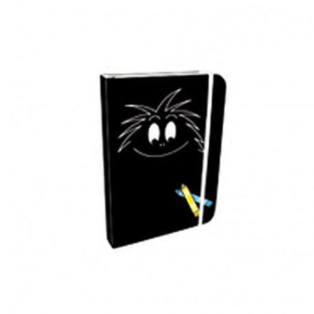 Zwart Zakboekje A6 Barbouille
