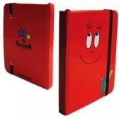 Red Notebook A6 florido