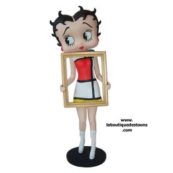 Marco de la Betty Boop foto de estatuilla