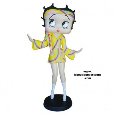 Statue-Betty Boop-Diskothek