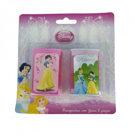Taille potlood Disney Princess roze - set van 2 stuks