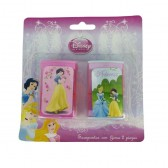 Taille potlood Disney Princess roze - set van 2 stuks