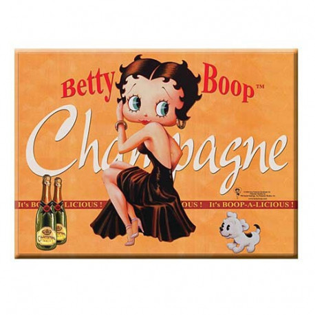 Plaque métallique Betty Boop
