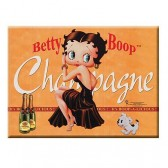 Piastra in metallo Betty Boop