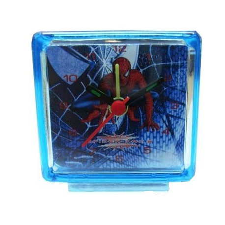Mini alarm clock Spiderman