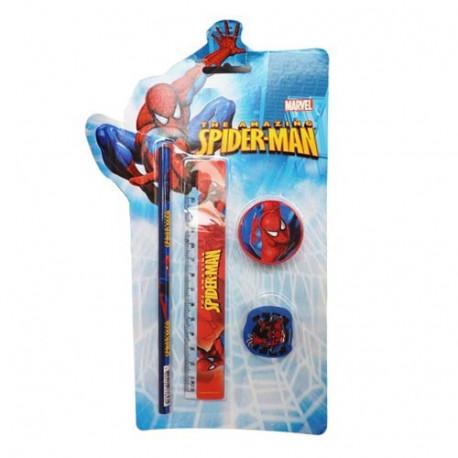 Spiderman Schreibwaren Set