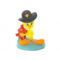 Figurine Tweety firefighter