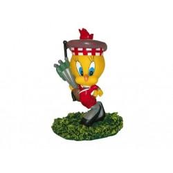 Cornamuse Tweety figurina