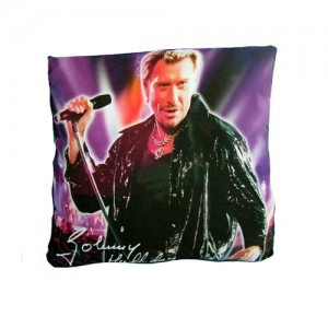 Coussin johnny hallyday chanteur la boutique des toons for Miroir johnny hallyday