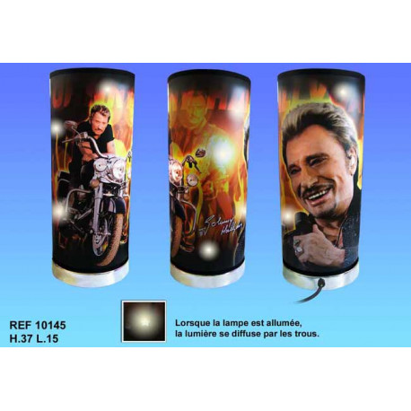 Lamp Johnny Hallyday motorcycle