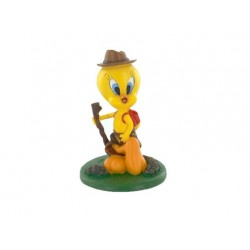 Escursionismo Tweety figurina
