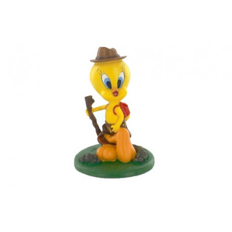 Figurine Tweety hiking