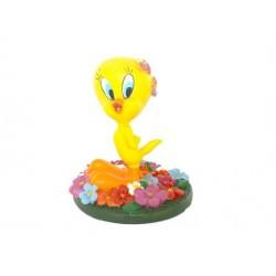 Figur Tweety Blumen