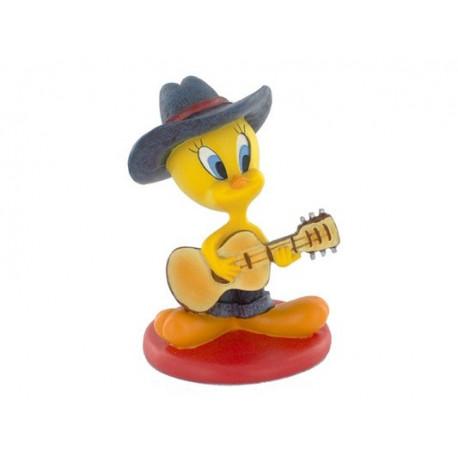 Beeldje Tweety gitaar