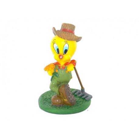 Figurine Tweety farmer