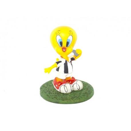 Figurine Tweety referee