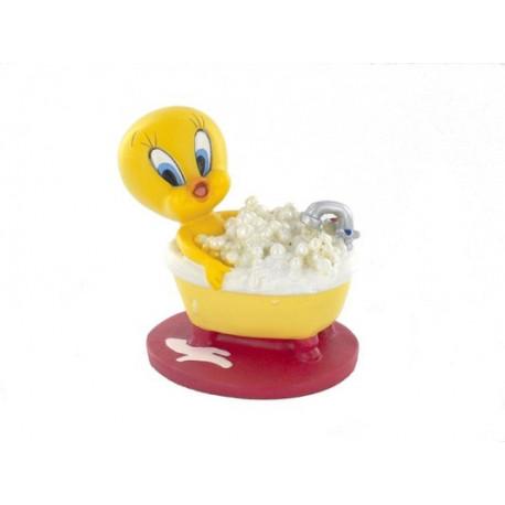 Figurine Titi bath