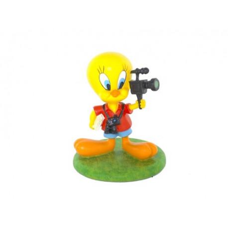 Figurine Tweety Reporter