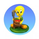 Giardiniere Tweety figurina