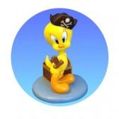 Figura de Titi pirata