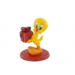 Roter Springaffe Geschenk Figur
