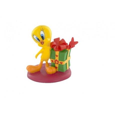 Figurine Titi cadeau vert